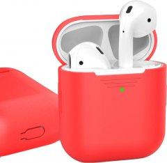 Классический Силиконовый чехол AhaStyle для Apple AirPods Red (AHA-01020-RED)