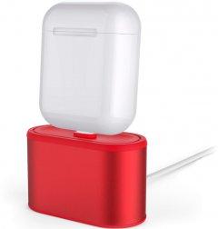 Алюминиевая подставка AhaStyle для Apple AirPods Red (AHA-01080-RED)