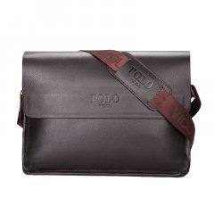 Повседневная мужская сумка Polo Vicuna Коричневая (8801-4-BR)