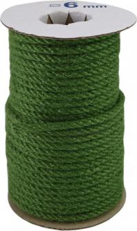 Канат джутовый Радосвіт 6 мм х 25 м Зеленый (4820172931928)
