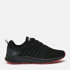 Кроссовки Restime BML21121 43 27.5 см Черные с красным (2000000447742)