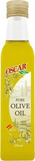 Масло оливковое рафинированное с добавлением оливкового масла нерафинированного Oscar foods Pure 250 мл (4820235630058)