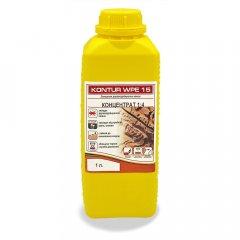 Антисептик для уничтожения дереворазрушающих насекомых KONTUR WPE 15- Концентрат 1:4, 1 л