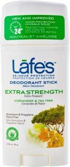 Дезодорант Lafe's Extra Strength Кориандр и чайное дерево 64 г (792870530038)
