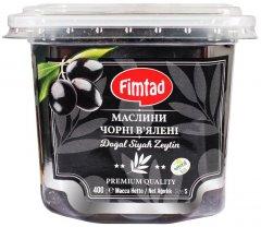 Маслины Fimtad Черные вяленые 400 г (8681957372123)