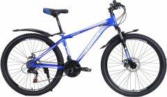 """Велосипед Cross Focus 24"""" 12"""" 2021 Gray-blue (24CWS21-003323)"""
