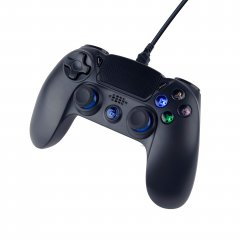 Проводной геймпад Gembird PS4/PC Black (JPD-PS4U-01)