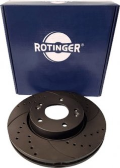 Диск тормозной Rotinger Honda Civic VII,FR-V 2 шт (RT 20350-GL T5)