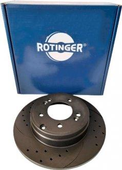 Диск тормозной Rotinger Hyundai Coupe, Sonata V, Kia Carens, Sportage 2 шт (RT 20242-GL T5)