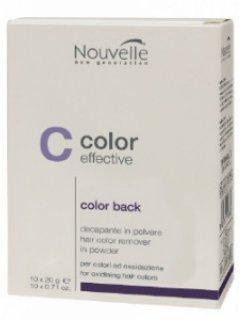Средство для удаления краски с волос Nouvelle Color Back 20 г (8025337317302)