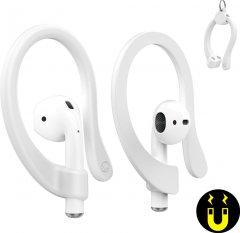 Магнитные держатели AhaStyle для Apple AirPods White (AHA-01781-WHT)