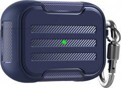 Противоударный чехол с карабином AhaStyle для Apple AirPods Pro Тёмно-синий (AHA-0P115-NBL)