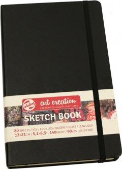 Блокнот для графики Royal Talens Art Creation 13 х 21 см 140 г/м2 80 листов черный (8712079383503)