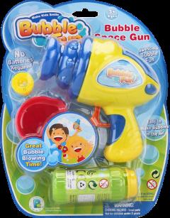 Мыльные пузыри Make Kids Smile Bubble Fun Космический пистолет 60 мл (DHOBB10130)