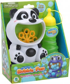 Мыльные пузыри Make Kids Smile Bubble Fun Панда 120 мл (DHOBB10470A)