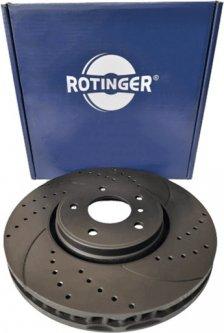 Диск тормозной Rotinger Infiniti EX, FX, M, Q70 2 шт (RT 4555-GL T5)