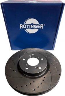 Диск тормозной Rotinger Acura MDX, ZDX, Honda Pilot (RT 20989-GL T5)