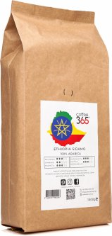 Кофе в зернах Coffee365 Ethiopia Sidamo 1 кг (4820219990208)