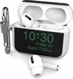 Силиконовый чехол AhaStyle для Apple AirPods Pro - Apple Watch Белый (AHA-0P104-WHT)