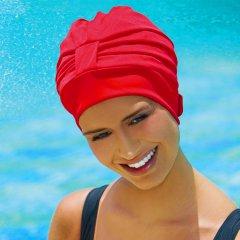Шапочка для плавания Fashy тканевая Красный (3473 40)