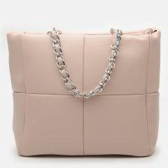Женская сумка кожаная Bella Bertucci 4135-09-37 Пудровая