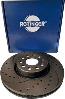Диск тормозной Rotinger Audi A3, TT, Seat Leon, Skoda Octavia, VW Golf 2 шт (RT 20312-GL T5)