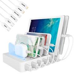 Универсальная зарядная станция Timstool 6 USB White (SG0106Q-UA-WT)