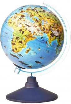 Интерактивная игрушка Alaysky's Globe с дополненной реальностью Глобус Zoo (AG-2534)