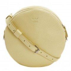 Кожаная женская сумка мини Bubble лимонная флотар TW-BABL-LIGHT-YELL-FLO