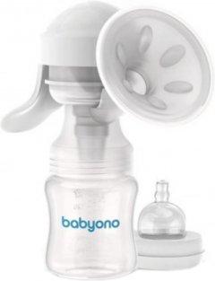 Молокоотсос ручной BabyOno Anatomy 301 (BabyOno 301) (5901435408698)