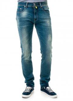 Джинси Pierre Cardin з колекції Future Flex ЕКО-серія з яскравими потертостями розмір 38/34 (8881/17)