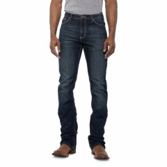 Джинси Wrangler 20X No. 42 Stretch Vintage Jeans - Slim Fit, Bootcut (For Big and Tall Men) Lawton, 31W 32L (11382024)
