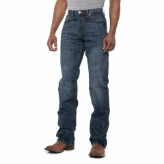 Джинси Wrangler 20X No. 33 Extreme Relaxed Fit Jeans - Straight Leg (For Big and Tall Men) Surf Spray, 30W 32L (11382023)