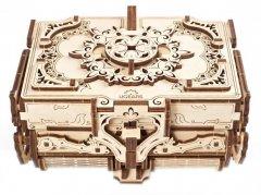Деревянный 3Д пазл Ugears Антикварная шкатулка (70089) (4820184121003)