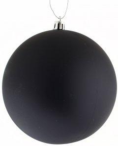 Елочный шар Новогодько (YES! Fun) (973231) Матовый d-12 см Черный (5056137142385)