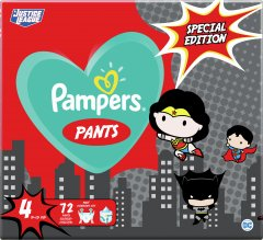 Подгузники-трусики Pampers Pants Special Edition Размер 4 (9-15 кг) 72 шт (8001841968254)