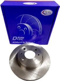 Диск тормозной передний Frico ВАЗ 2108 - 21099, 2113-2115 2 шт (FC527BD)