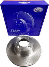 Диск тормозной передний Frico ВАЗ 2101 - 2107 2 шт (FC96BD)