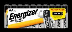 Батарейки Energizer AA Family Pack 10 шт (6443164) (7638900275001)