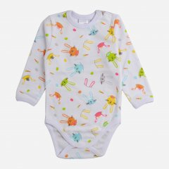 Боди Garden Baby 19934-02 74 см Цветные зайцы (4821993402406)