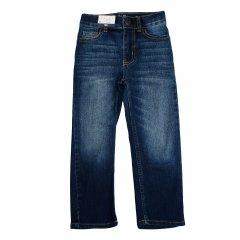 Джинси для хлопчика ( 1 шт ) OshKosh сині класичні з потертостями демісезонні 4 роки (99-105см) 1095