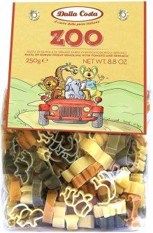 Макаронные изделия DALLA COSTA Зоопарк с томатом и шпинатом 250 г (8016419125007)