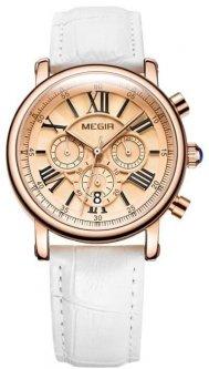Женские наручные часы Megir Rim, кварцевые с хронографом