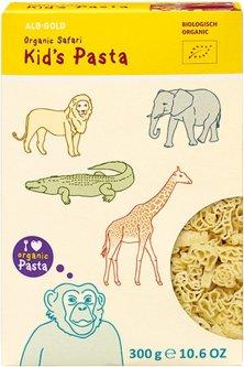 Детские макаронные изделия Alb-Gold Сафари Органические 300 г (4018722302582)