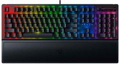 Клавиатура проводная Razer BlackWidow V3 Razer Green Switch USB Black RU (RZ03-03540800-R3R1)