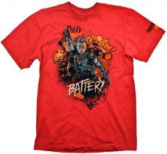 "Футболка Gaya COD ""Black Ops 4 T-Shirt Battery Red"" XXL (GE6301XXL)"