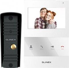 Комплект домофона Slinex SQ-04 White + ML-16HR Black (14557)