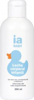 Детское молочко для тела Interapothek Увлажняющее без парабенов и фталатов 200 мл (8430321700099)