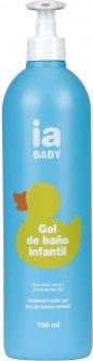 Детский гель для купания Interapothek Смягчающий без красителей и парабенов 750 мл (8430321700044)