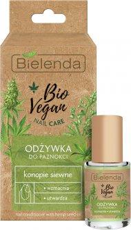 Средство для ногтей Bielenda Bio Vegan Nail Care Укрепляющее с семенами конопли 10 мл (5902169038311)